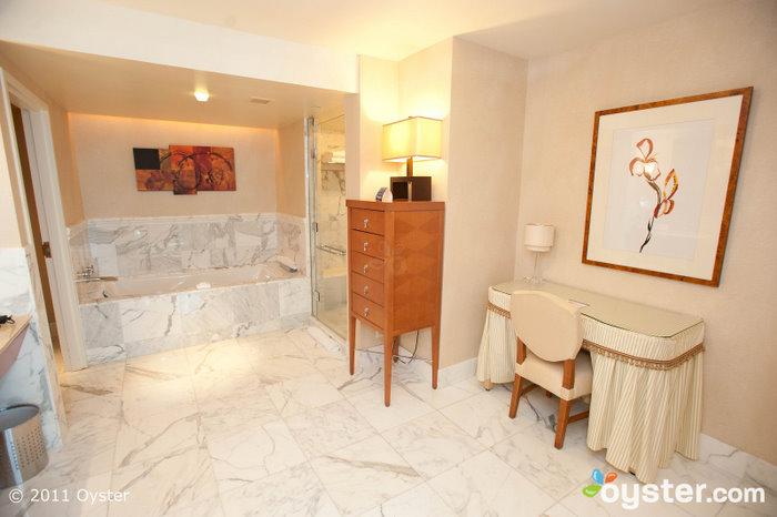 Bathroom in the Fiore Suite at the Borgata Hotel Casino and Spa