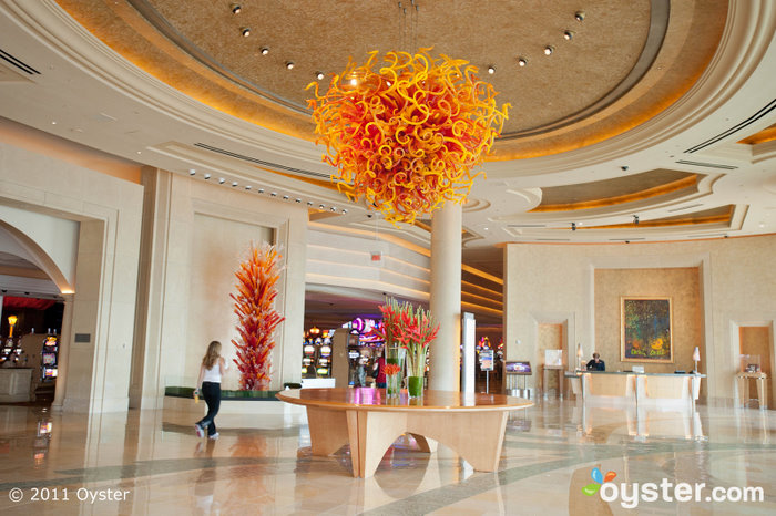 Lobby of the Borgata Hotel Casino and Spa