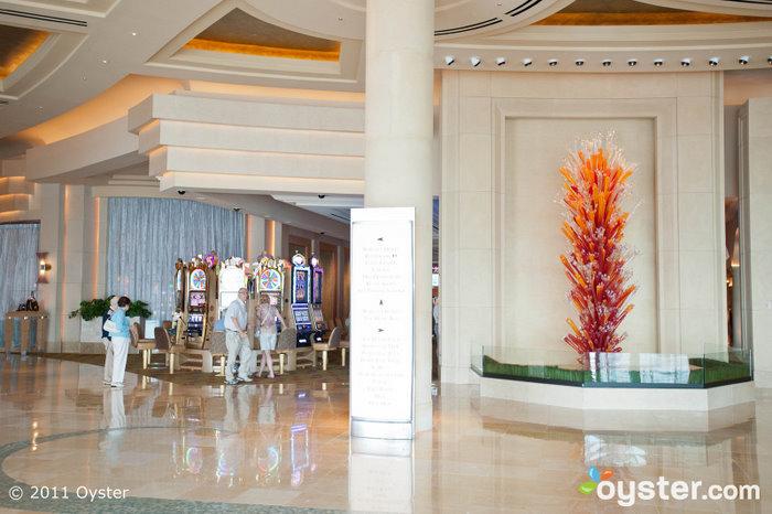 Lobby at the Borgata Hotel Casino and Spa