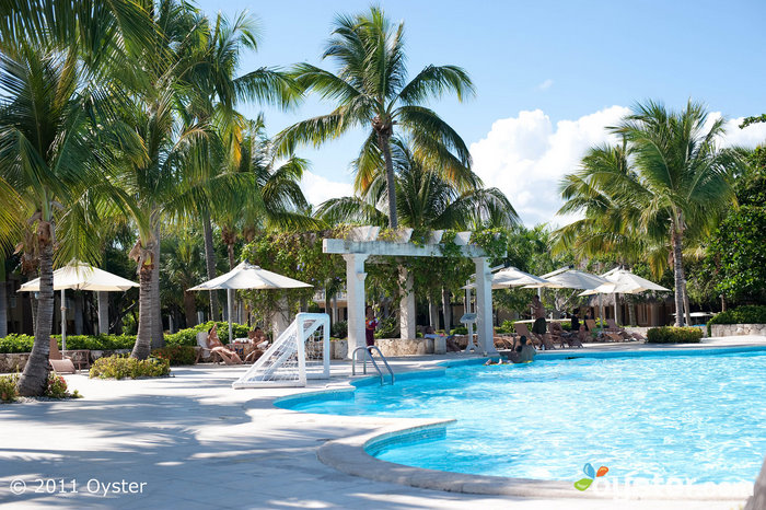 The main pool at the Punta Cana Hotel; Punta Cana, Dominican Republic