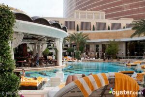 The European Pool at the Encore at the Wynn; Las Vegas, NV