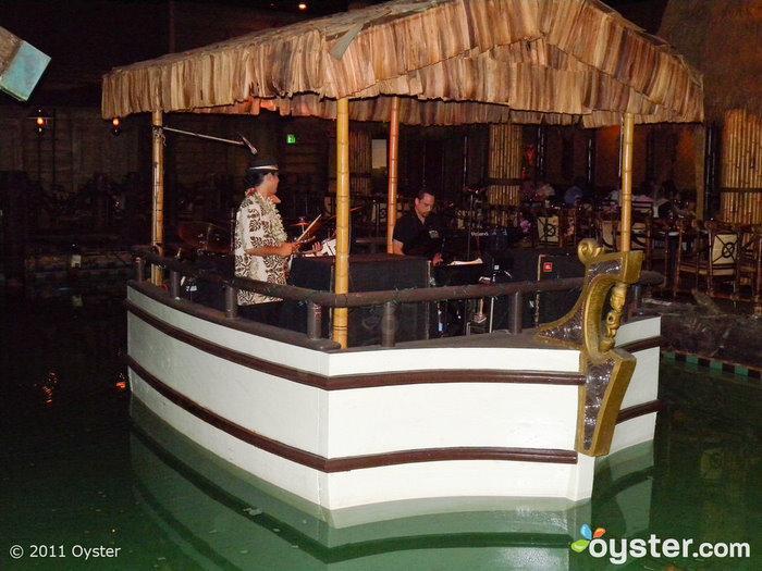 The floating band at the Tonga Room at the Fairmont; San Francisco, CA