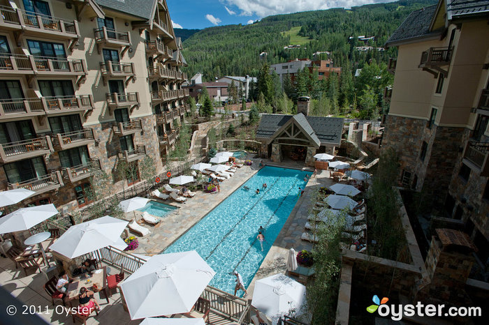 The Outdoor Pool at the Four Seasons Resort Vail; Vail, CO