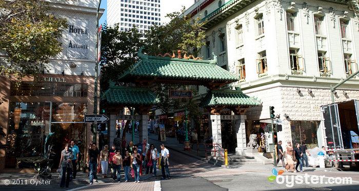 Dragon Gate in Chinatown; San Francisco, CA