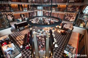 The Lobby at the Liberty Hotel; Boston, MA
