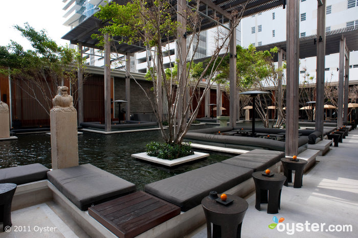 Courtyard at The Setai; Miami, FL