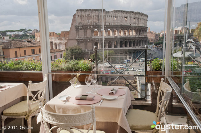 Aroma Restaurant at the Palazzo Manfredi; Rome, Italy
