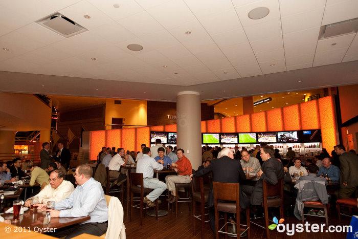 Champions Bar en el Boston Marriott Copley Place; Boston, MA