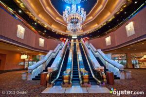 The entrance to the casino of The Trump Taj Mahal; Atlantic City, NJ