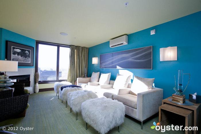 The spa at Hotel Terra Jackson Hole; Jackson Hole, WY