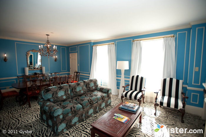 La suite royale à l'hôtel Kensington Park; San Francisco, Californie