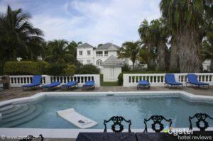 A private pool...