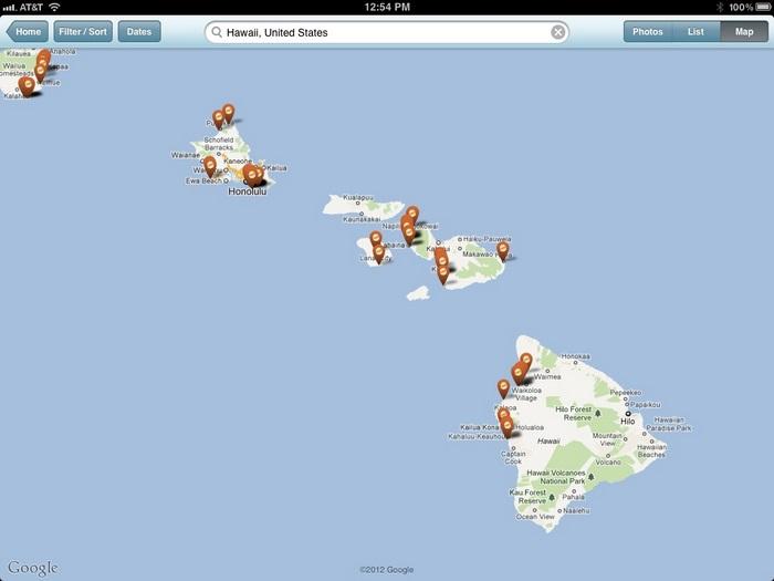 Le mappe interattive sulla nostra app.