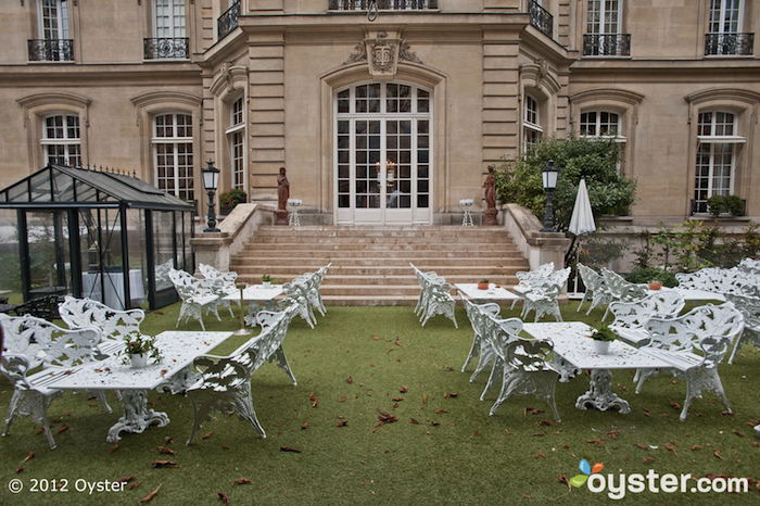 The Garden at the Saint James Paris; Paris, France