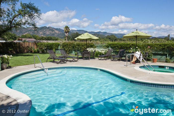 The Pool at the EuroSpa & Inn; Calistoga, CA