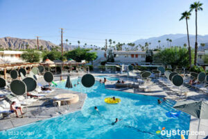 The Swim Club Pool at the Ace Hotel and Swim Club; Palm Springs, CA
