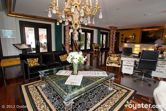 Lobby at the Mansion on Forsyth Park; Savannah, GA