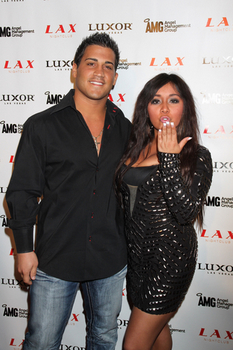 Snooki and Jionni hosted a Spring Break party -- wonder if she ever thought she'd be hosting a baby shower a year later? Credit: PRN/PR Photos