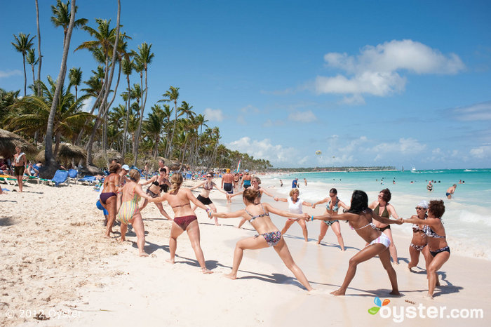Beach Activities at the Grand Palladium Punta Cana Resort & Spa; Punta Cana, Dominican Republic