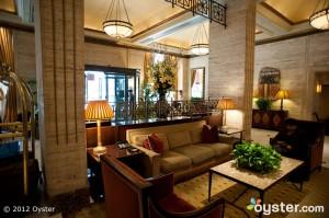 The Lobby at the Loews Regency -- New York City