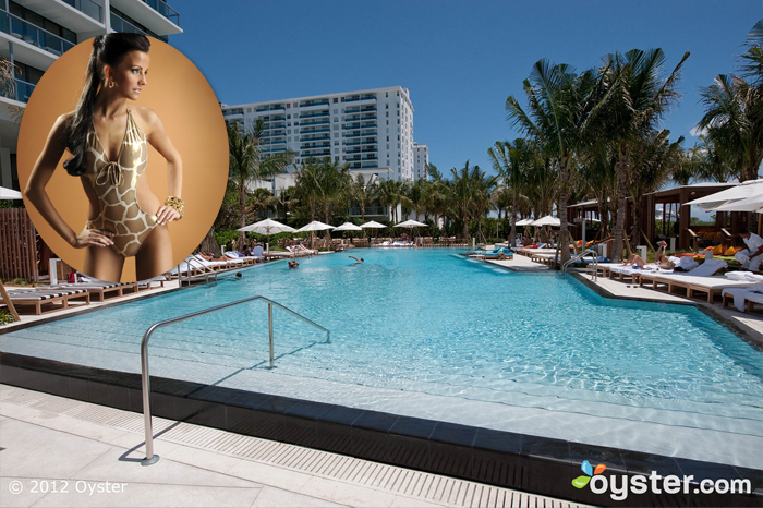 Credit: iStock Photo (woman); The Pool at the W South Beach