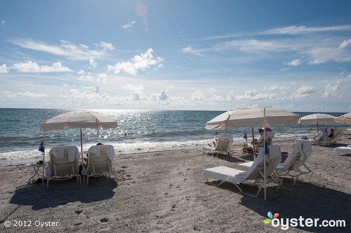 Beach at Ritz-Carlton Key Biscayne -- Florida Keys