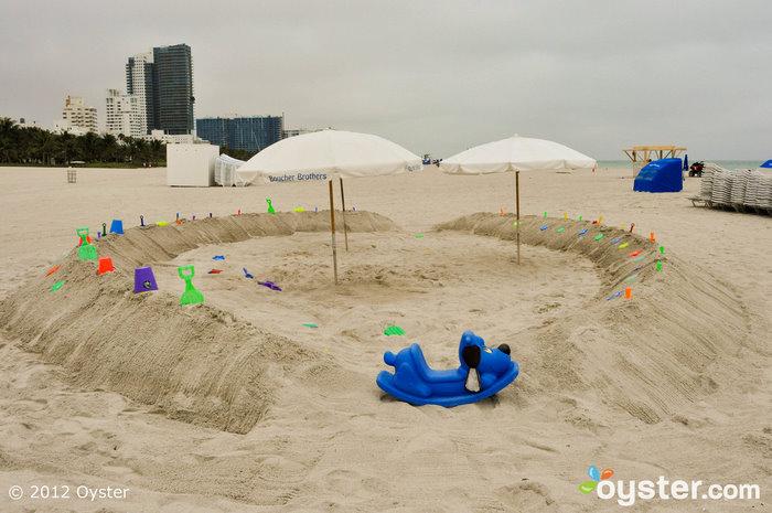 Atividades organizadas para crianças no Loews Resort Miami Beach; Miami, FL