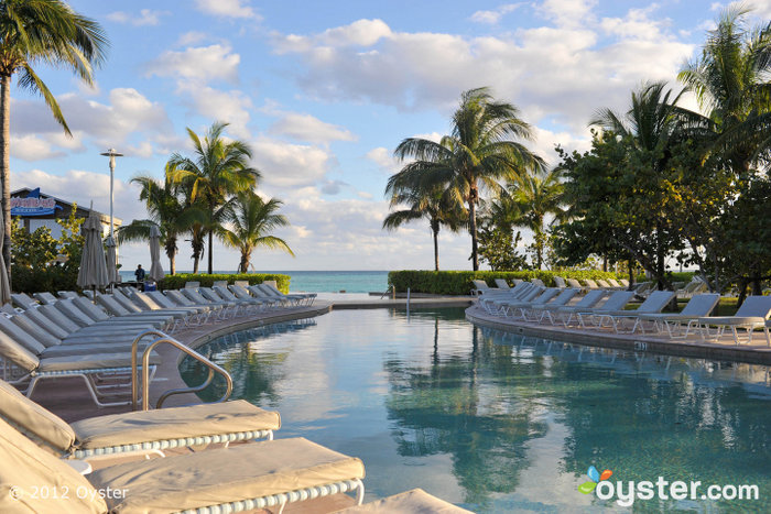 The Pool at the Radisson Grand Lucayan; Bahamas