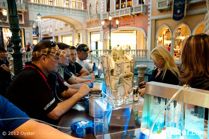 Oxygen Bar at the Venetian Resort Hotel Casino; Las Vegas, NV