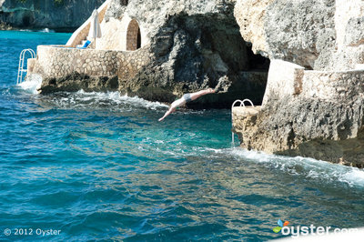 Cliff Diving at the Caves Hotel, Jamaica