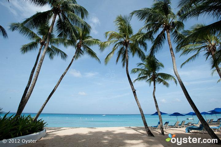 Beach at the Fairmont Royal Pavilion; Barbados