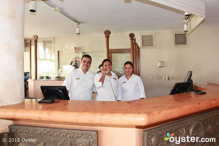 Reception presso la Villa Del Palmar Beach Resort & Spa, Cabo San Lucas, Los Cabos, Messico