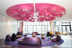 Lobby at the nhow Berlin
