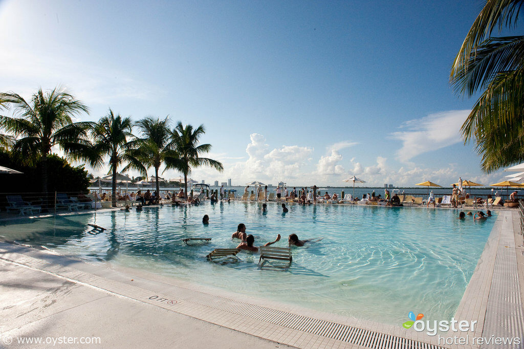 The Standard Hotel Miami's saltwater pool