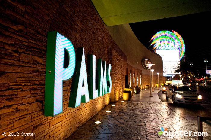 Iconic Sign at The Palms Casino Resort -- Las Vegas