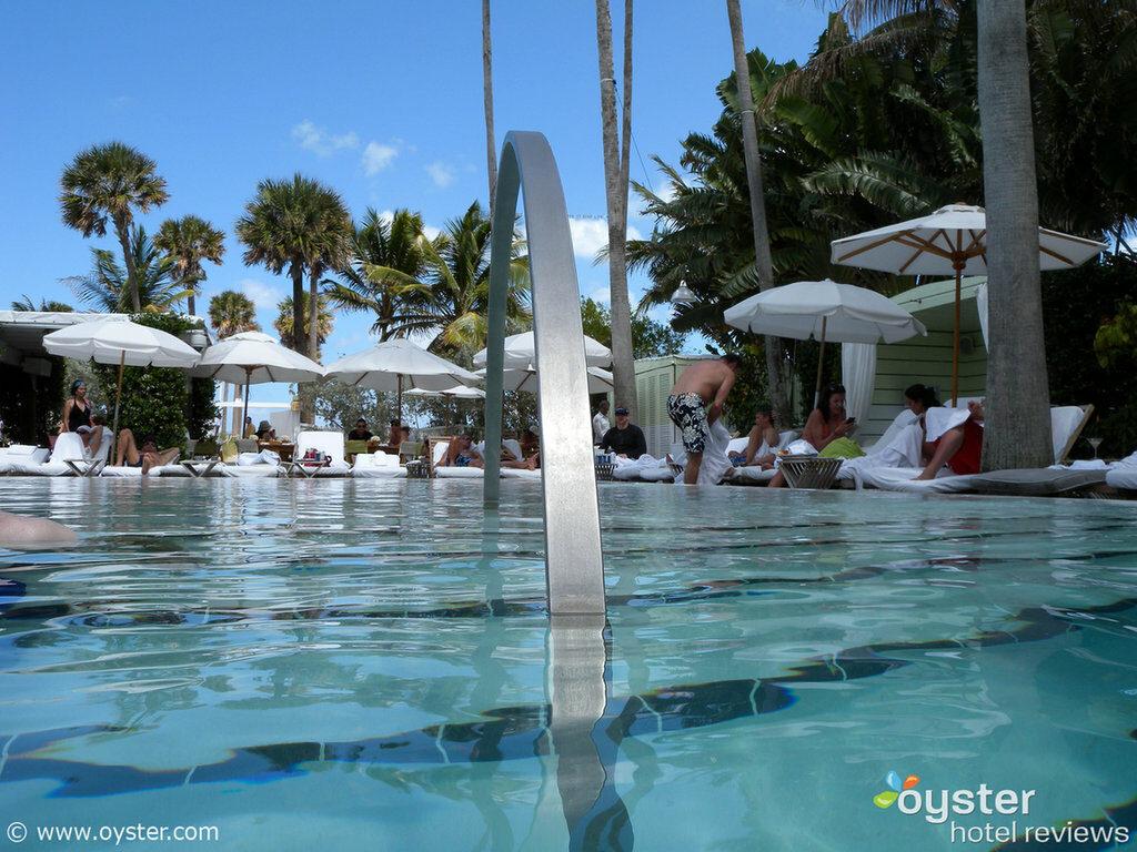 The Delano Hotel's pool scene