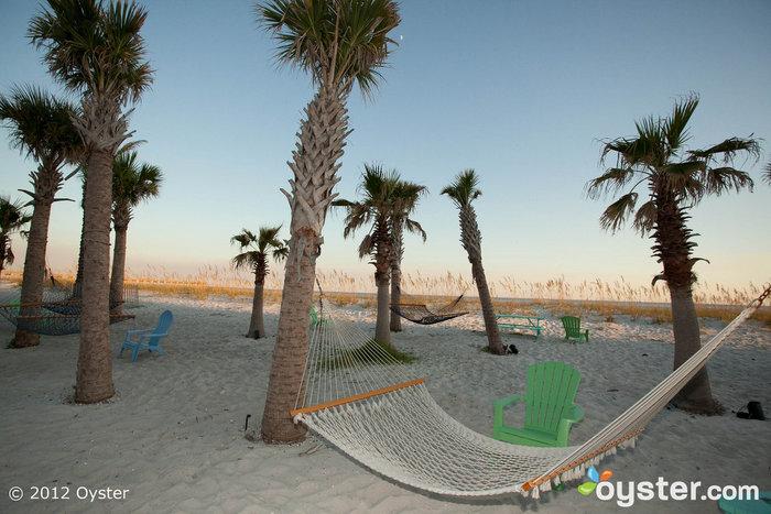 Landshark Landing Beach Bar à l'hôtel Margaritaville Beach - Pensacola