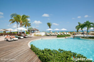 The Beachside Pool at the Sands at Grace Bay, Turks & Caicos Islands
