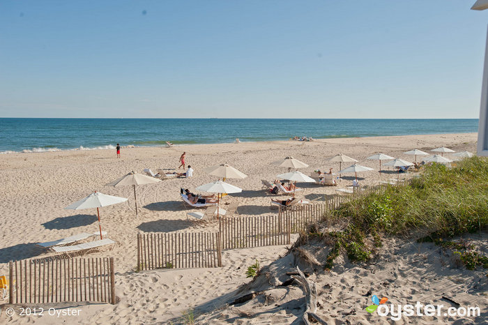 Life's a beach in the tony Hamptons.