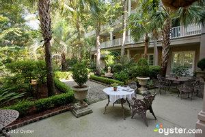 Courtyard at The Main Street Inn & Spa