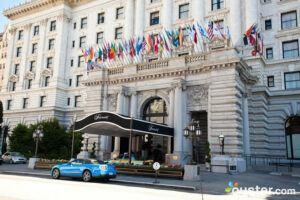 Entrance at The Fairmont San Francisco