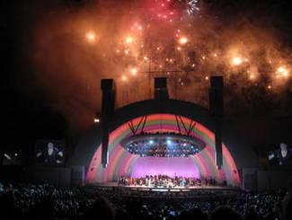 Hollywood Bowl; Credit: Flickr by Margaret Napier