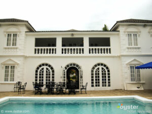 Just one of the private villas at Half Moon, Jamaica