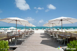 Beach Bar at the Gansevoort Turks and Caicos, a Wymara Resort