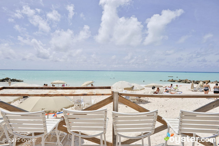 Palatial Pastels: Beach at Pompano Beach Club, Bermuda
