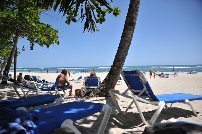 Beach at Barcelo Talanquera