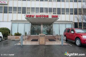 Entrance at the Kew Motor Inn; New York, NY