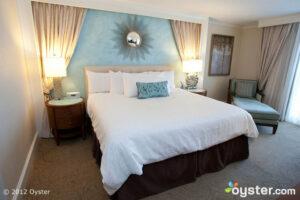 The Deluxe King Oceanview Room at the One Ocean Resort Hotel & Spa -- Jacksonville, FL