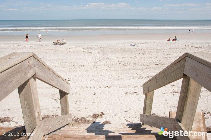 Beach at the One Ocean Resort Hotel & Spa -- Jacksonville, FL