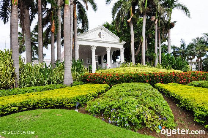 Regal Entrance to Half Moon, Jamaica